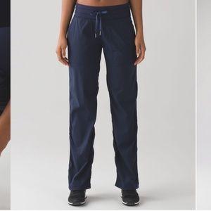 Lululemon Dance Studio Pant Unlined Navy 10 Tall